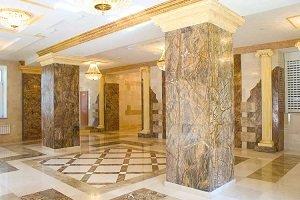 Применение мрамора в Алматы и в Астане